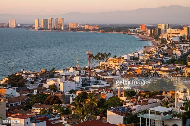 Mexico, Puerto Vallarta, view from El Centro