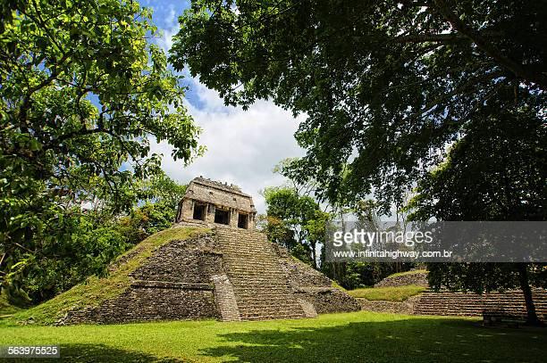 Mexico Templo del Conde Palenque Chiapas