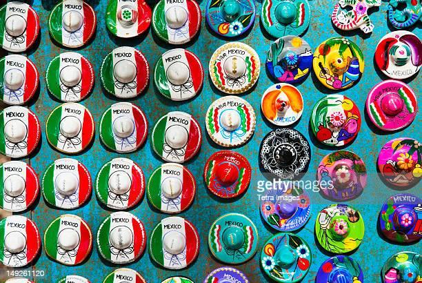 Mexico, Yucatan, Colorful magnets