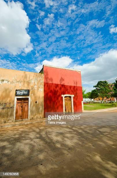 Mexico, Yucatan, Valladolid, Traditional houses