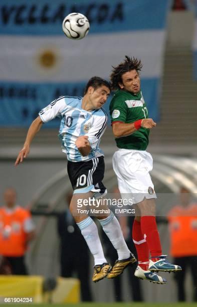 Mexico's Francisco Fonseca and Argentina's Juan Riquelme