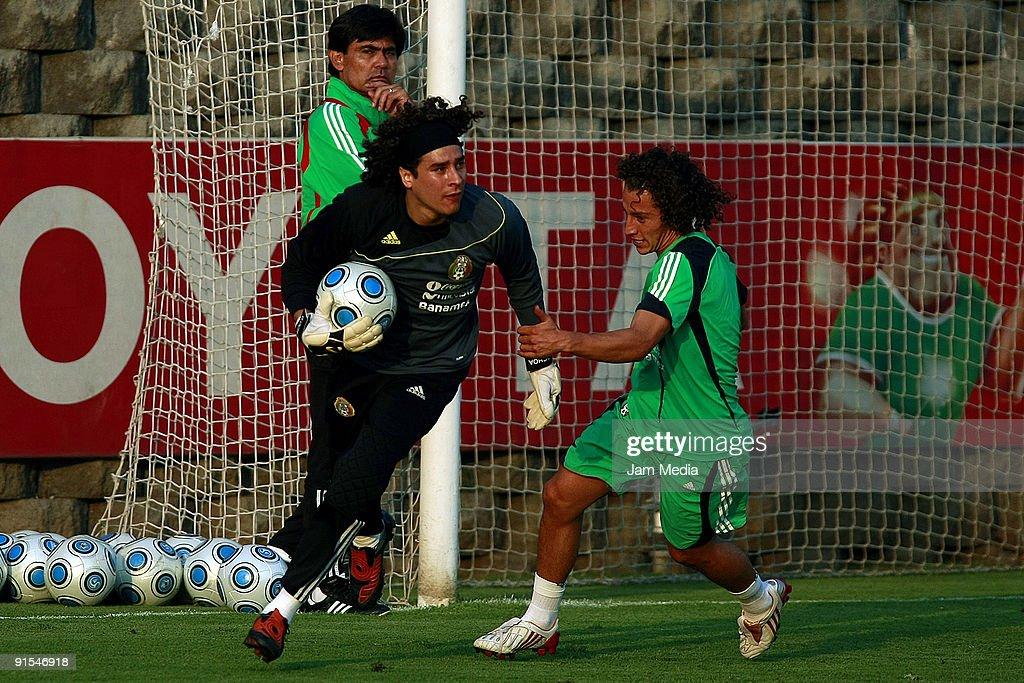 Mexico Team Training Session