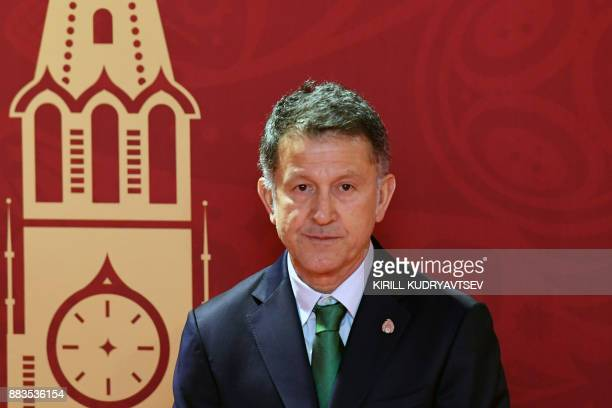 Mexico's national football team coach Juan Carlos Osorio arrives to attend the Final Draw for the 2018 FIFA World Cup football tournament at the...