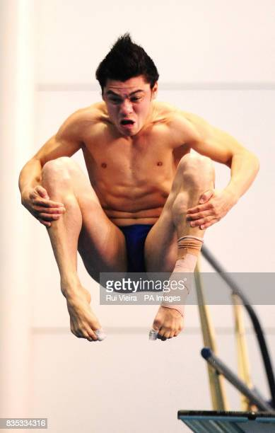 Mexico's Yahel Castillo during the Men's 3m Semi Final during the FINA Diving World Series at Ponds Forge Sheffield