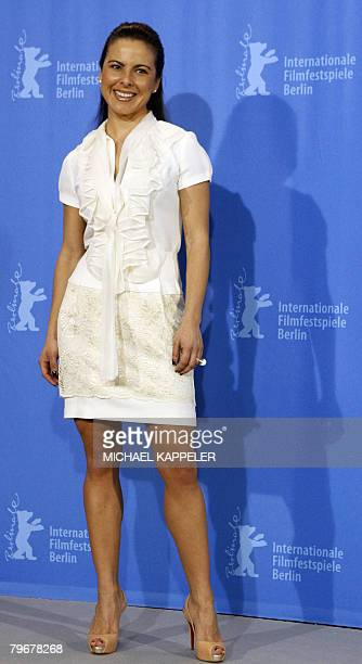 Mexikan actress Kate del Castillo poses during the photocall of the movie 'Julia' by French director Erick Zonca and presented in competition for the...