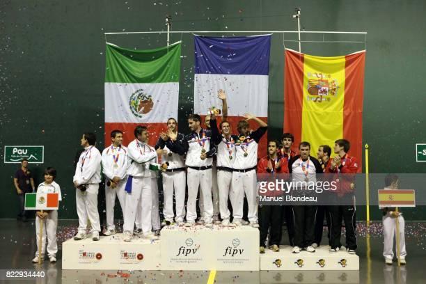 Mexique / France / Espagne 16e Championnats du Monde de Pelote Basque Complexe Sportif du Zenith Pau France