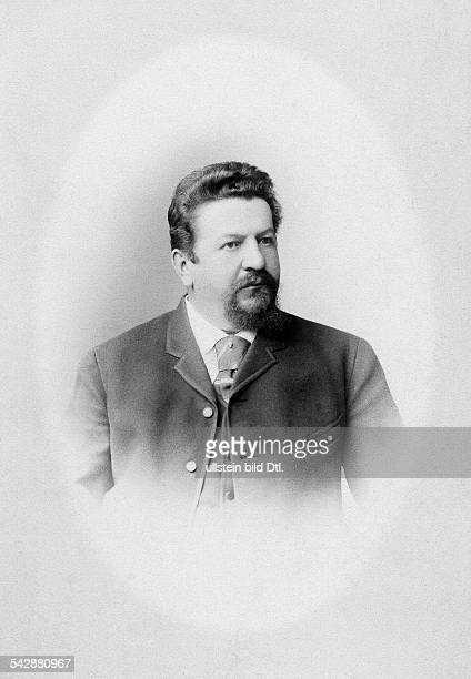 W MeyerGerman consul in Arkhangelsk Russia date unknown around 1900photo by Leizinger