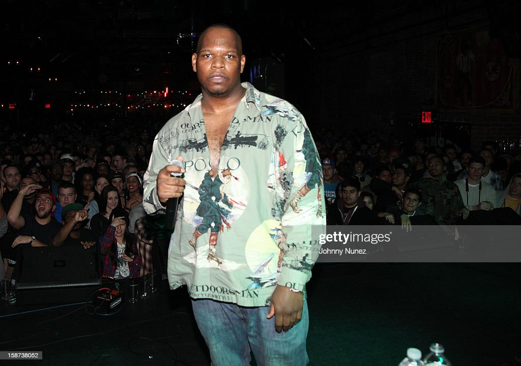 Meyhem Lauren performs at the Brooklyn Bowl on December 26, 2012 in New York City.