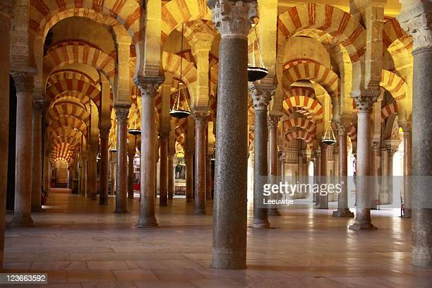Mezquita cathedral mosque interior Cordoba Spain