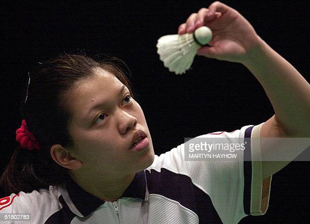 Mia Audina Tjiptawan the former Indonesian player who now lives and plays for the Netherlands after her marriage to Tylio Twajana a Dutch Gospel...