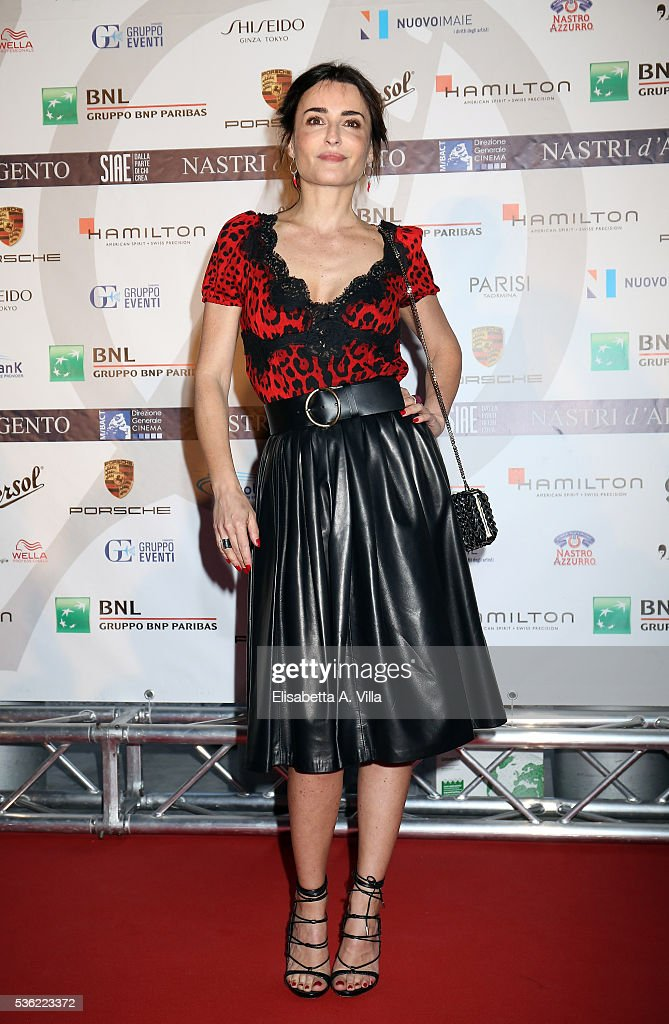 Mia Benedetto attends Nastri D'Argento 2016 Award Nominations at Maxxi on May 31, 2016 in Rome, Italy.
