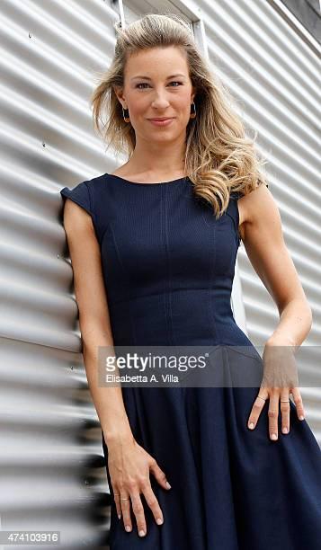 Mia Ceran attends 'Uno Mattina Estate' Tv Show photocall at RAI on May 20 2015 in Rome Italy