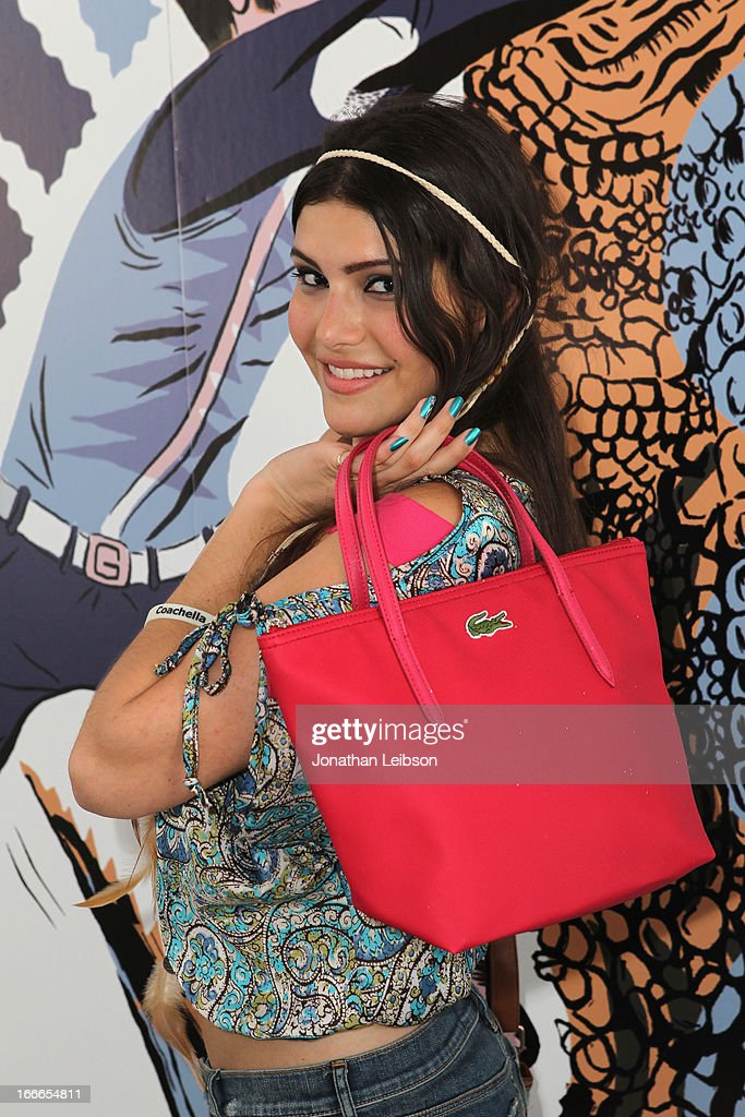 Mia Doran attends LACOSTE L!VE 4th Annual Desert Pool Party on April 14, 2013 in Thermal, California.