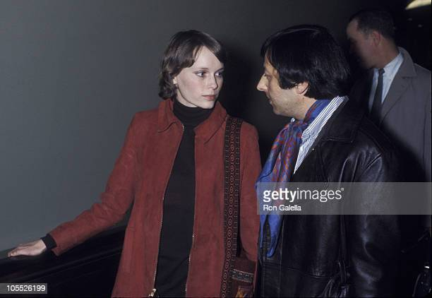 Mia Farrow and Andre Previn during Mia Farrow and Andre Previn Arrive at JFK Airport from London April 17 1970 at Kennedy International Airport in...