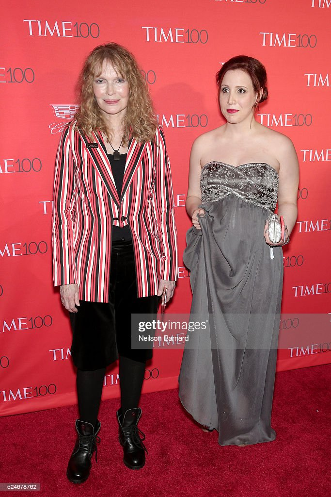 <a gi-track='captionPersonalityLinkClicked' href=/galleries/search?phrase=Mia+Farrow&family=editorial&specificpeople=93764 ng-click='$event.stopPropagation()'>Mia Farrow</a> (L) and Dylan Farrow attend the 2016 Time 100 Gala at Frederick P. Rose Hall, Jazz at Lincoln Center on April 26, 2016 in New York City.
