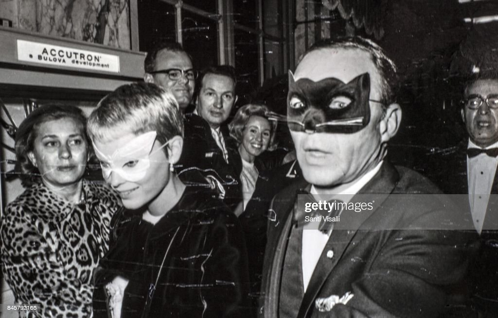 Truman Capote held his legendary Black & White Ball at the Plaza Hotel in New York on 28 November 1966