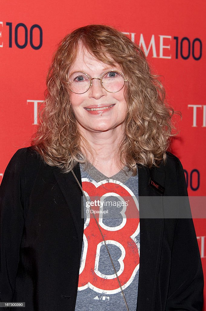<a gi-track='captionPersonalityLinkClicked' href=/galleries/search?phrase=Mia+Farrow&family=editorial&specificpeople=93764 ng-click='$event.stopPropagation()'>Mia Farrow</a> attends the 2013 Time 100 Gala at Frederick P. Rose Hall, Jazz at Lincoln Center on April 23, 2013 in New York City.