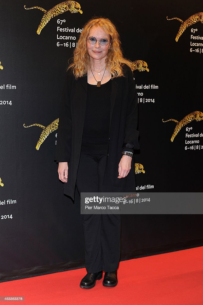<a gi-track='captionPersonalityLinkClicked' href=/galleries/search?phrase=Mia+Farrow&family=editorial&specificpeople=93764 ng-click='$event.stopPropagation()'>Mia Farrow</a> attends the Leopard Club Award during the 67th Locarno CFilm Festival on August 8, 2014 in Locarno, Switzerland.