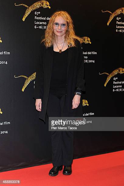 Mia Farrow attends the Leopard Club Award during the 67th Locarno CFilm Festival on August 8 2014 in Locarno Switzerland