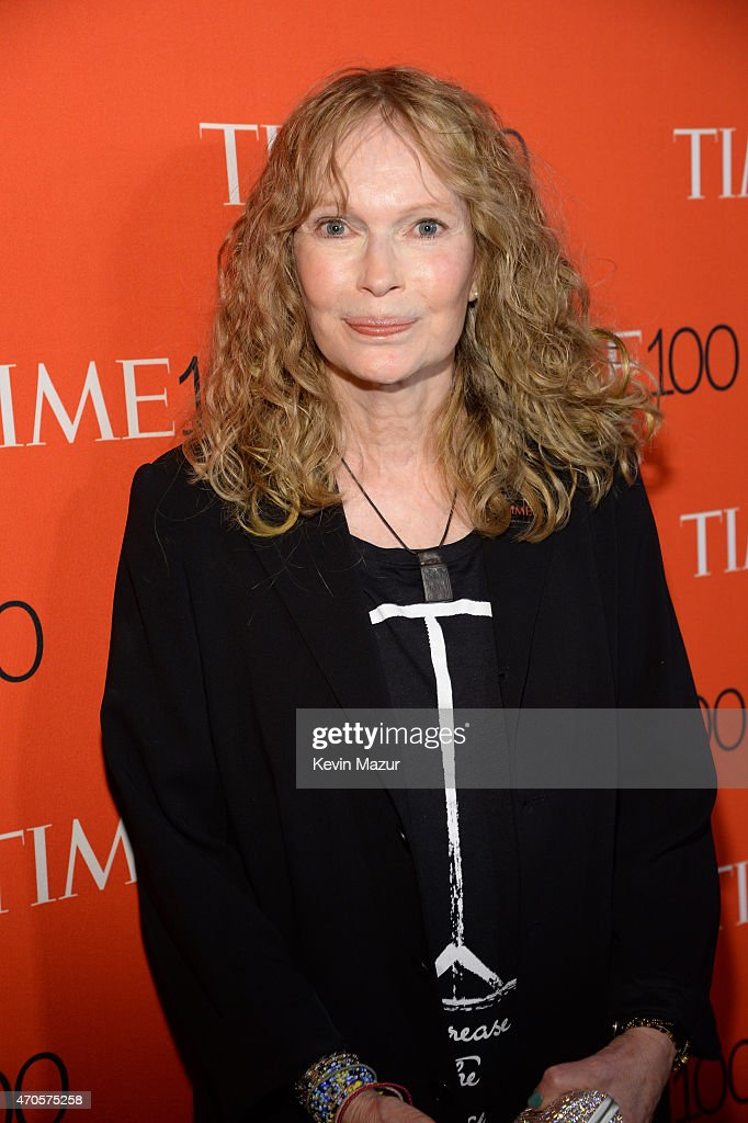 <a gi-track='captionPersonalityLinkClicked' href=/galleries/search?phrase=Mia+Farrow&family=editorial&specificpeople=93764 ng-click='$event.stopPropagation()'>Mia Farrow</a> attends TIME 100 Gala, TIME's 100 Most Influential People In The World at Jazz at Lincoln Center on April 21, 2015 in New York City.