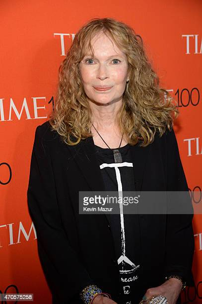 Mia Farrow attends TIME 100 Gala TIME's 100 Most Influential People In The World at Jazz at Lincoln Center on April 21 2015 in New York City