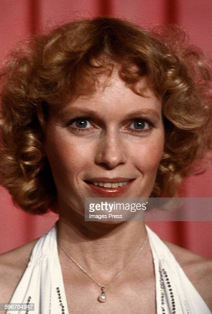 Mia Farrow circa 1983 in Los Angeles California