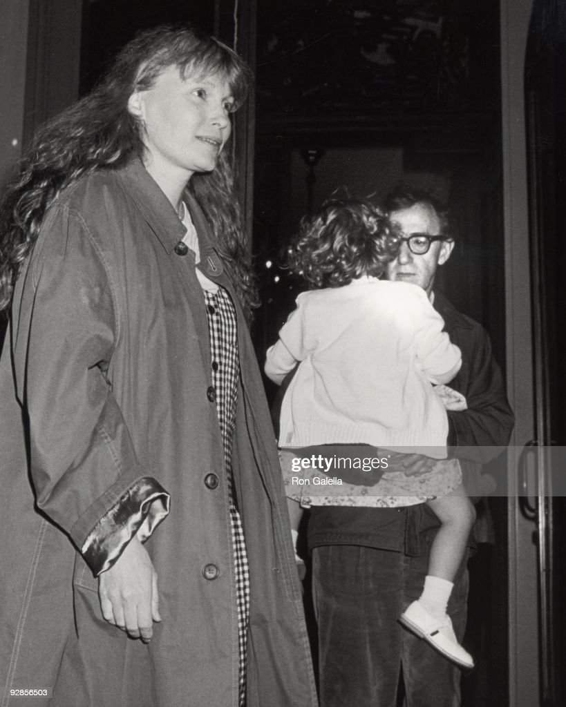 Mia Farrow, Dylan Farrow and Woody Allen