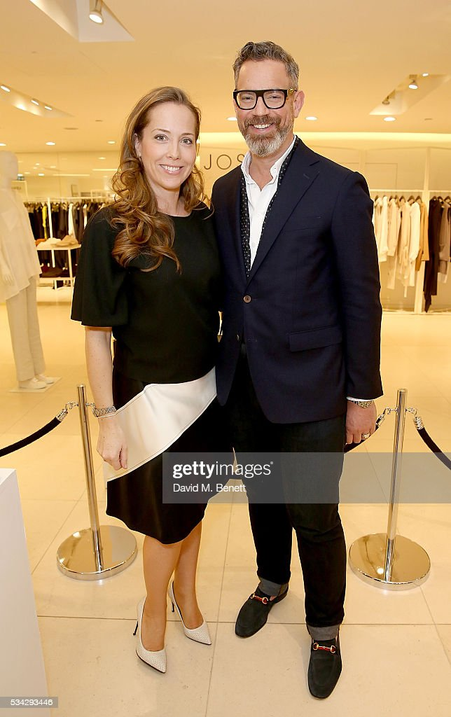 Mia Fenwick and Daniel Marks attend 'Decades of Drama' at Fenwicks Bond Street on May 25, 2016 in London, England.