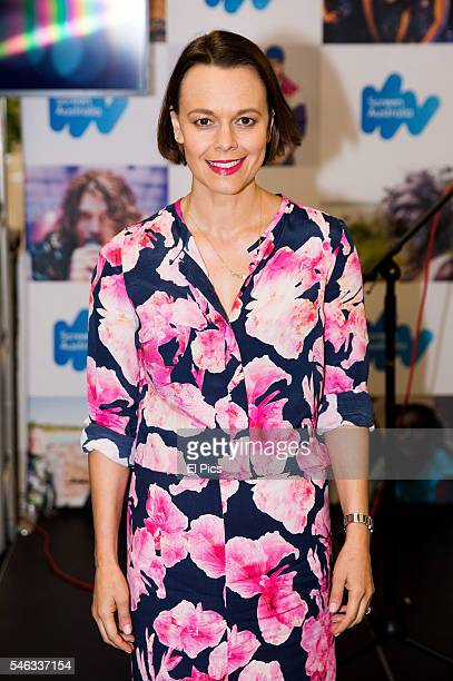 Mia Freedman attends the Screen Australia 'Gender Matters' recipients announcement on July 12 2016 in Sydney Australia
