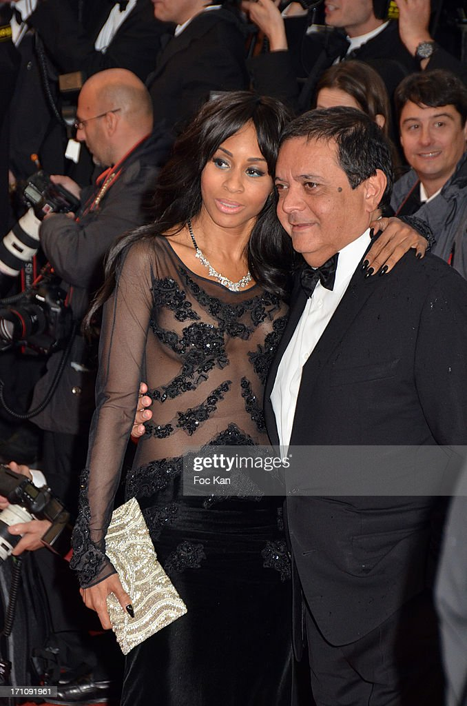 Mia Frye and Edouard Nahum attend the Premiere of 'Jimmy P. (Psychotherapy Of A Plains Indian)' at Palais des Festivals during The 66th Annual Cannes Film Festival on May 18, 2013 in Cannes, France.