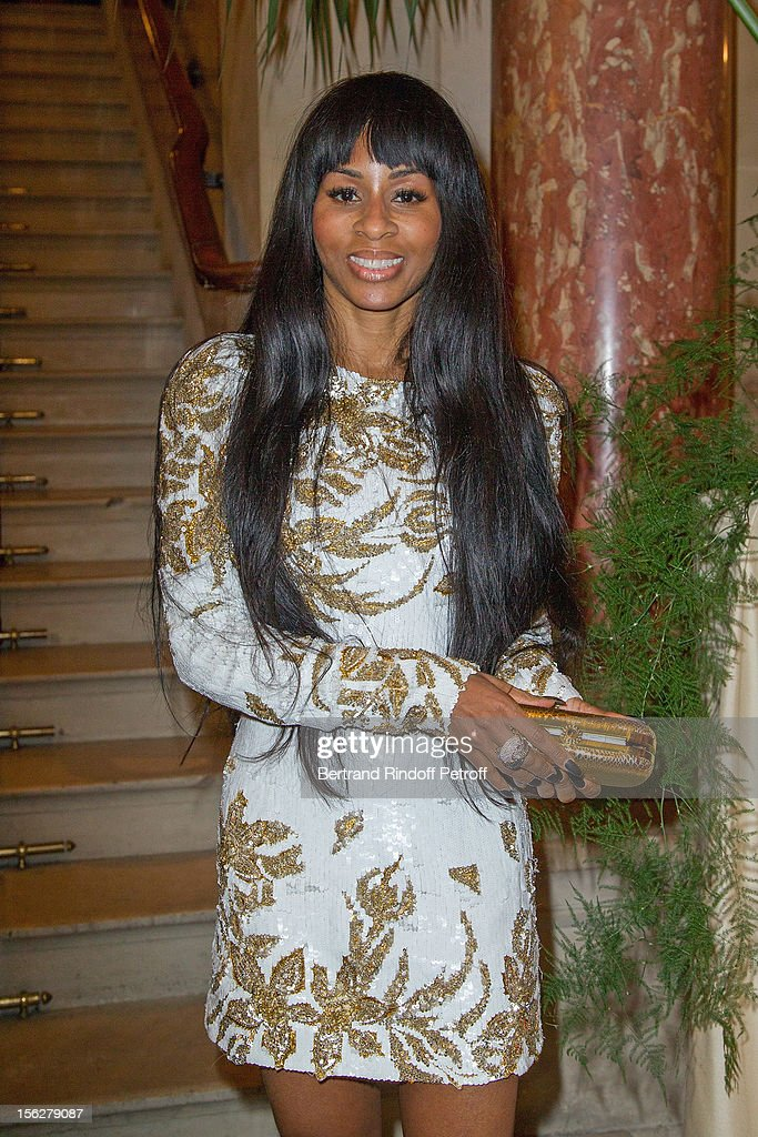 Mia Frye attends the Gala de l'Espoir charity event against cancer at Theatre du Chatelet on November 12, 2012 in Paris, France.