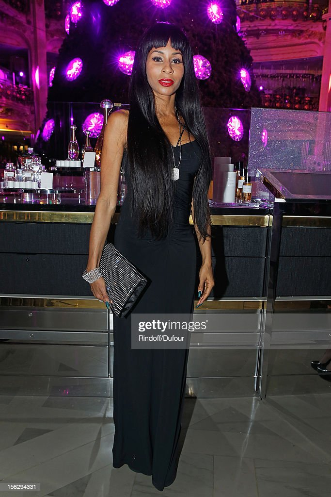 Mia Frye attends the Galeries Lafayette 100th Anniversary Bal on December 12, 2012 in Paris, France.