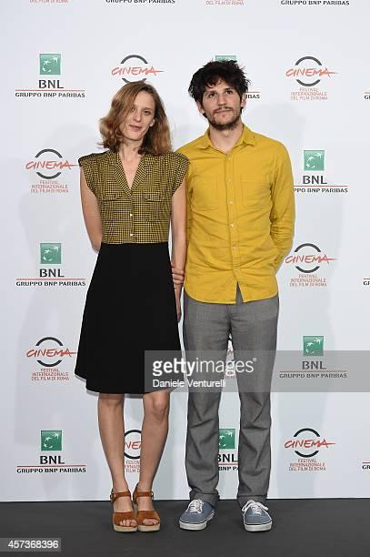 Mia HansenLove and Felix de Givry attend the 'Eden' Photocall during The 9th Rome Film Festival at Auditorium Parco Della Musica on October 17 2014...