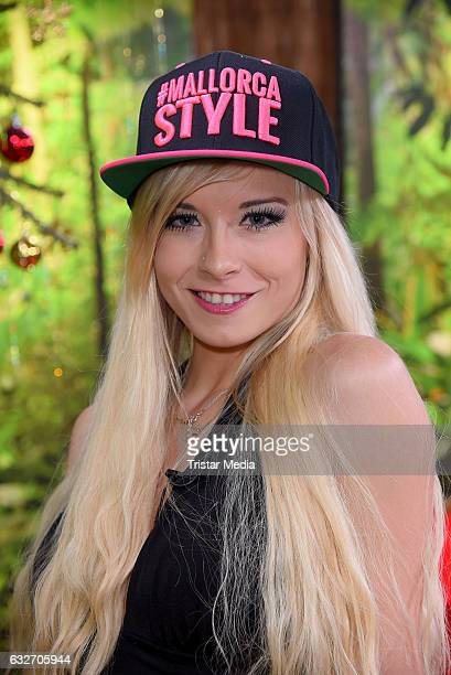 Mia Julia Brueckner at the 'Ich bin ein Star HOlt mich hier raus' event hosted by BILD on January 25 2017 in Berlin Germany