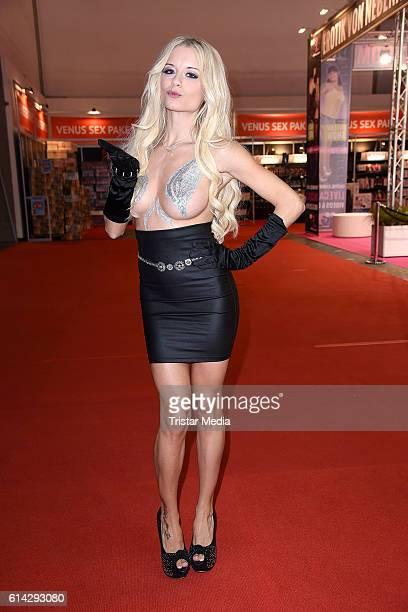 Mia Julia Brueckner attends the opening of the Venus Erotic Fair at Palais am Funkturm on October 13 2016 in Berlin Germany