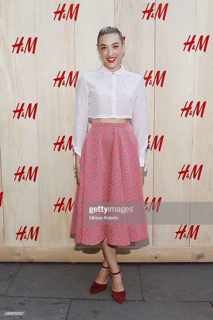 Mia Moretti attends HM Summer Camp Party at Cafe de la Esquina on June 19 2014 in New York City