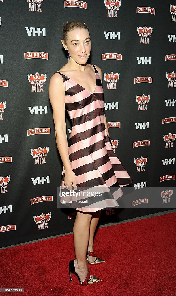 DJ Mia Moretti attends the 'Masters Of The Mix' Season 3 Premiere at Marquee on March 27, 2013 in New York City.