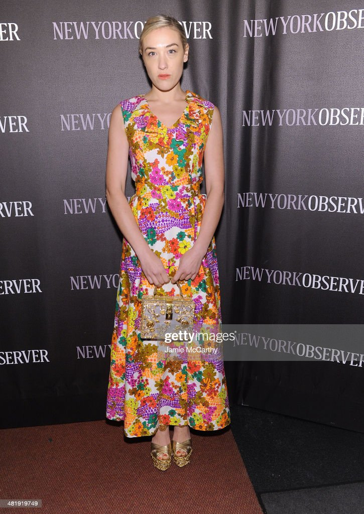 Mia Moretti attends The New York Observer Relaunch Event on April 1, 2014 in New York City.