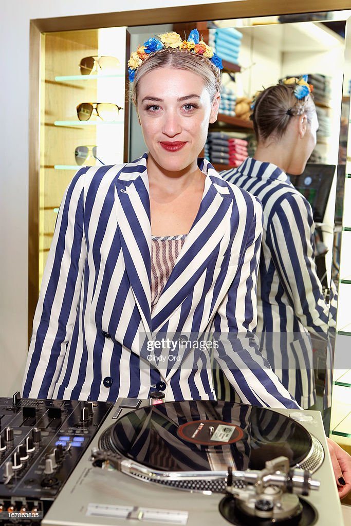 DJ Mia Moretti attends Tommy Hilfiger celebrates redesigned Soho store with event for Fresh Air Fund on May 1, 2013 in New York City.