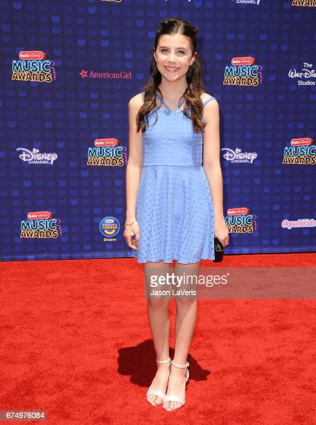 Mia Sinclair Jenness attends the 2017 Radio Disney Music Awards at Microsoft Theater on April 29 2017 in Los Angeles California
