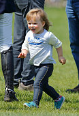 Mia Tindall attends the Badminton Horse Trials on May 8 2016 in Badminton England