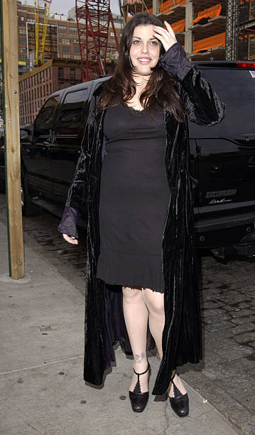 Mia Tyler During Liv And Royston Langdon Renew Their Wedding Vows At New York City