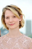 Mia Wasikowska at the photo call for 'Restless' during the 64th Cannes International Film Festival
