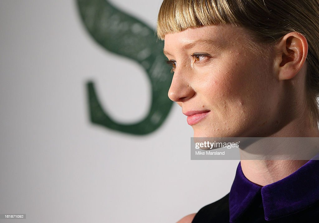 Mia Wasikowska attends a special screening of Stoker at Curzon Soho on February 17, 2013 in London, England.