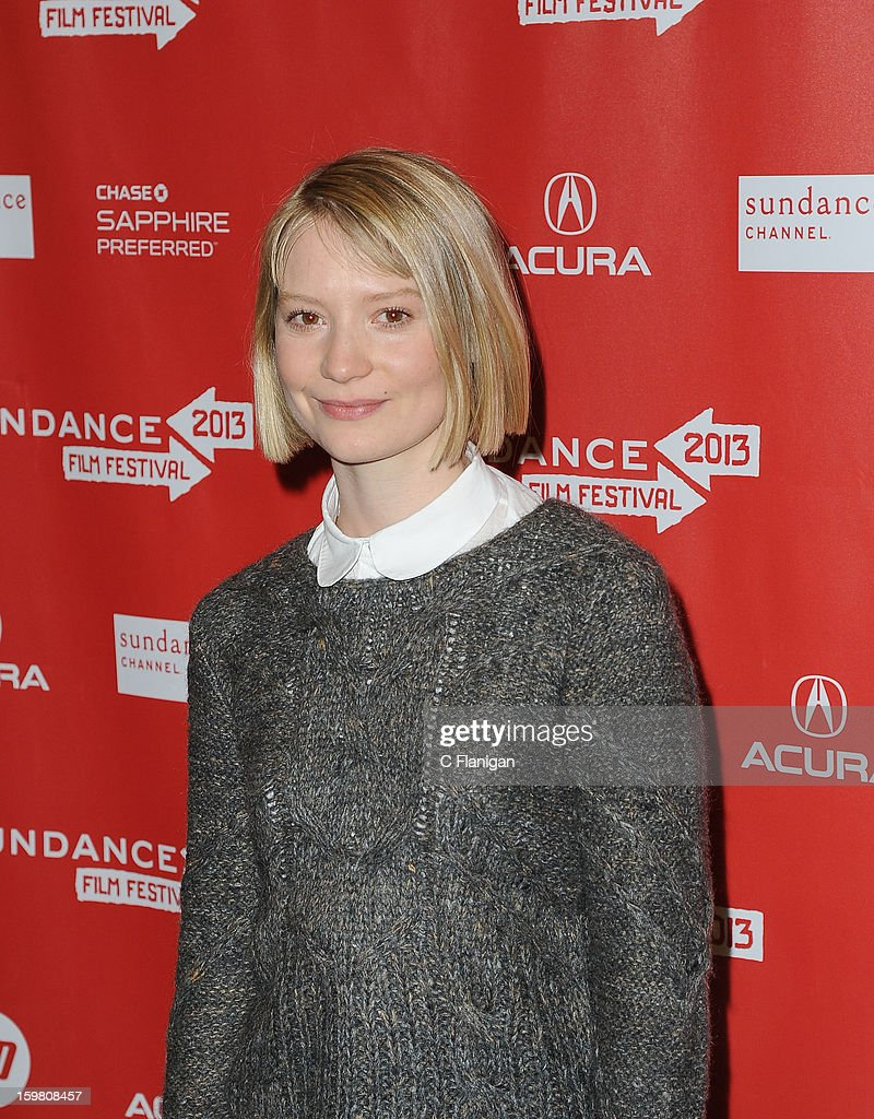 Mia Wasikowska attends the 'Stoker' Premiere at Eccles Center Theatre on January 20, 2013 in Park City, Utah.