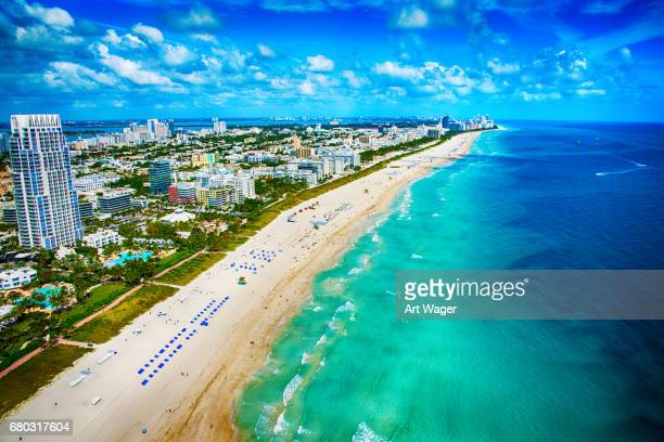 Miami Beach Florida From Above