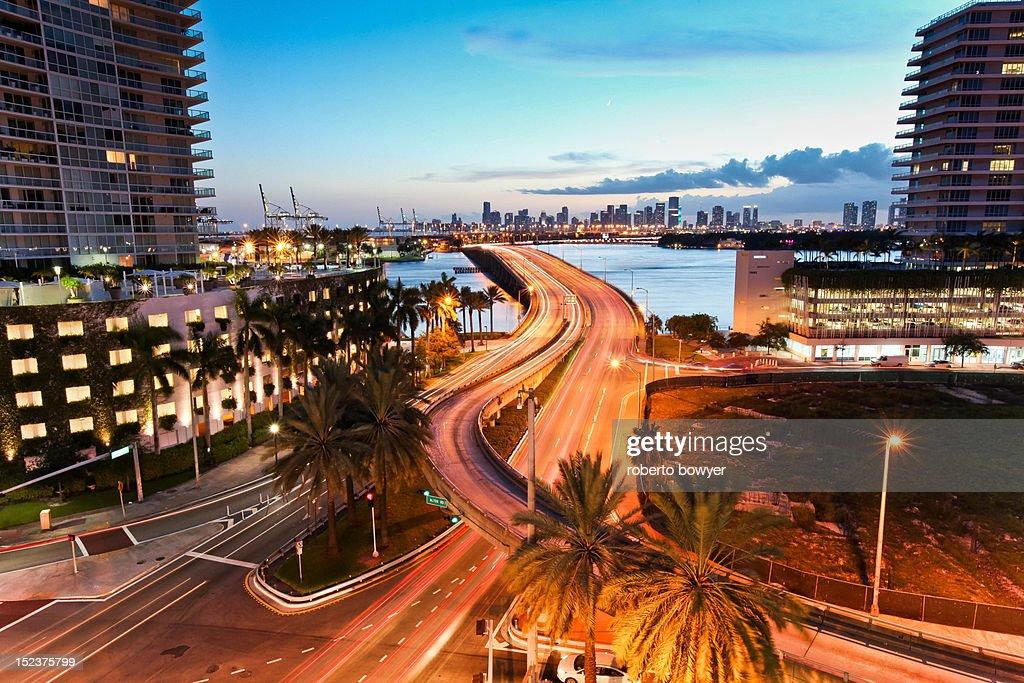 Miami Florida Miami beach : Stock Photo