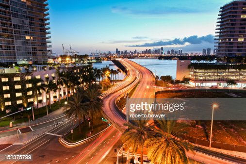 Miami Florida Miami beach : Stock Photo