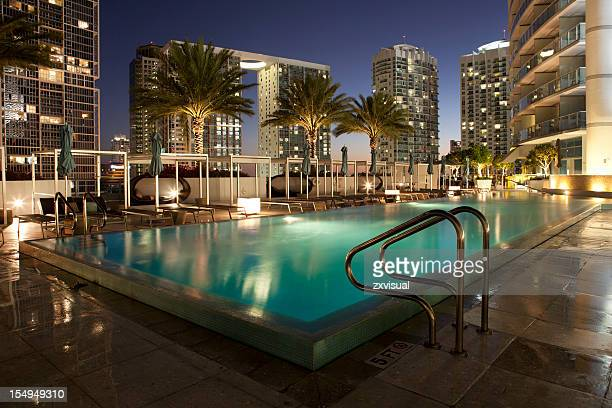 Miami Infinity Pool at Epic Hotel