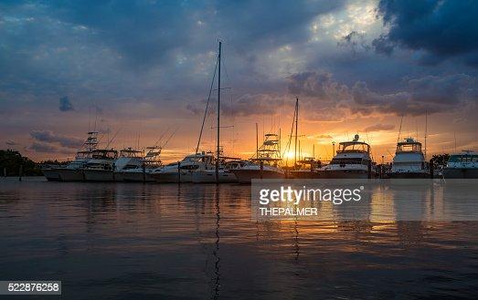 Miami marina